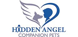 Hidden Angel Companion Pets Logo