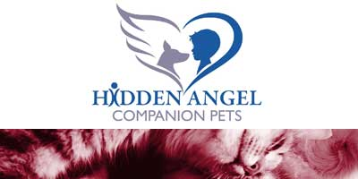 Hidden Angel Companion Pets Logo